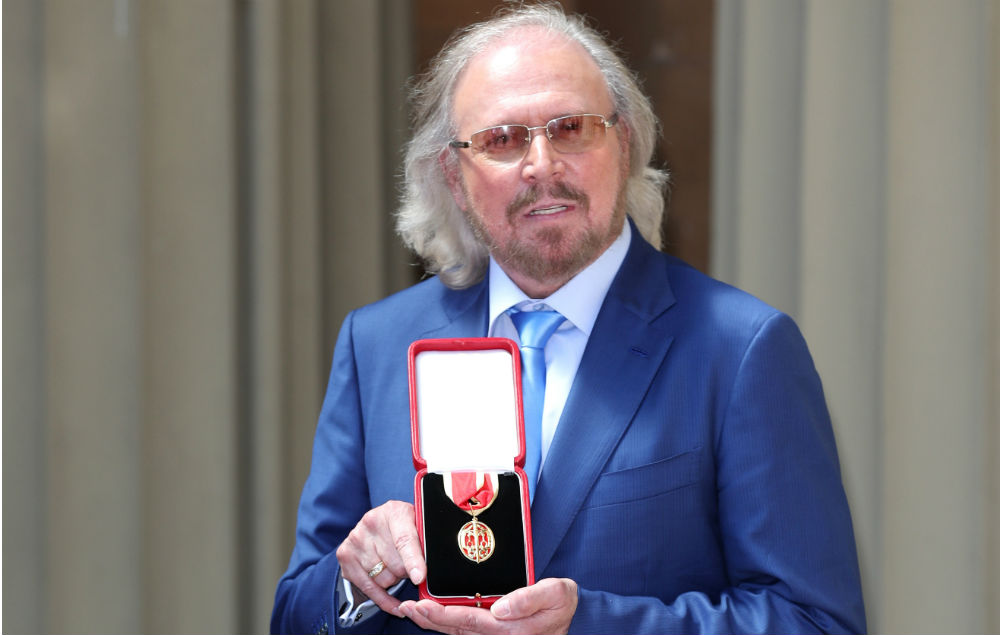 Knight Fever Bee Gees Icon Barry Gibb Receives Knighthood