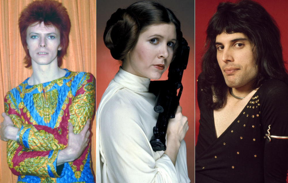 Carrie Fisher Had Affairs With Freddie Mercury And David