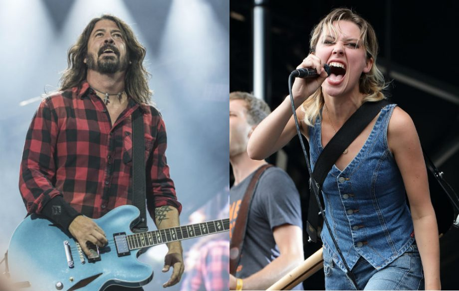 foo fighters wanted to celebrate strong female artists with uk