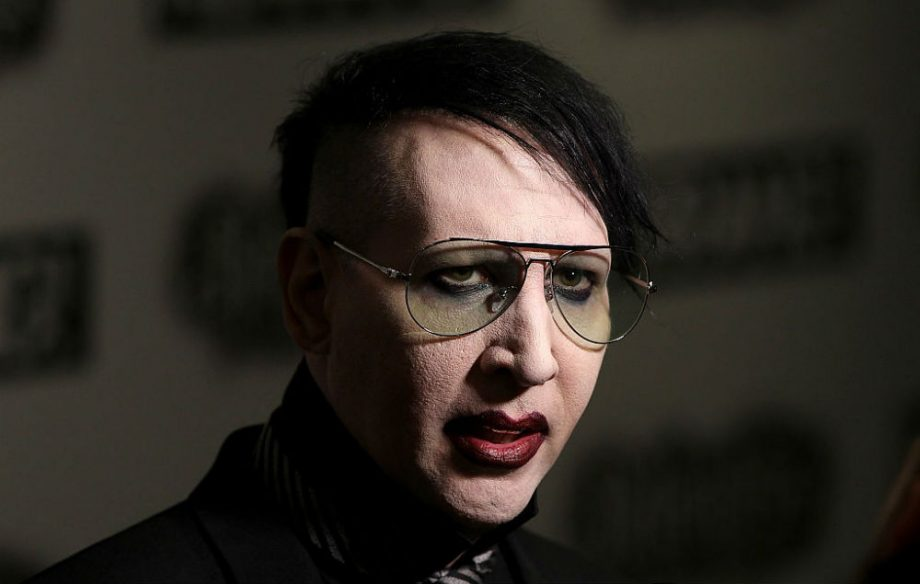Here's Marilyn Manson's creepy new video for his cover of