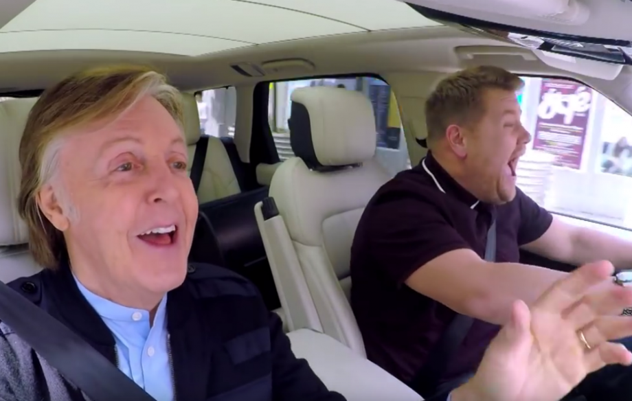 Drive My Car Watch Paul Mccartney S Epic Carpool Karaoke With James