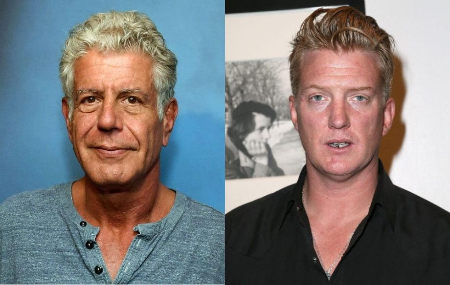 Watch Queens of the Stone Age play 'Long Slow Goodbye' in tribute to Anthony Bourdain