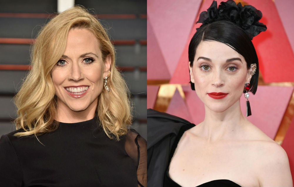 St. Vincent has teamed up with Sheryl Crow on new track 'Wouldn't Want to Be Like You'