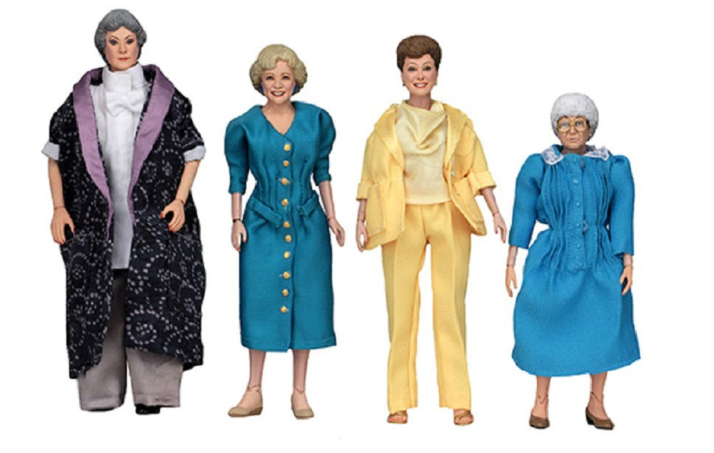A collection of 'Golden Girls' action figures have been unveiled at Comic-Con - NME