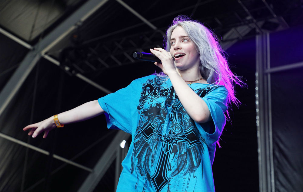 Billie Eilish Posts A Video Of A Spider Crawling Out Of