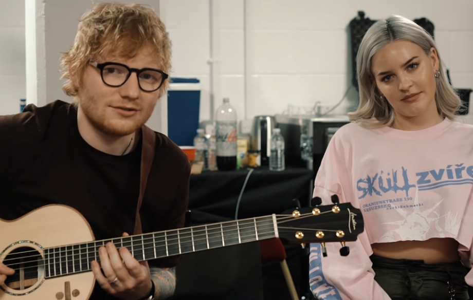 Watch Anne-Marie and Ed Sheeran play an acoustic version of  2002 ... 4bc690b4ec2