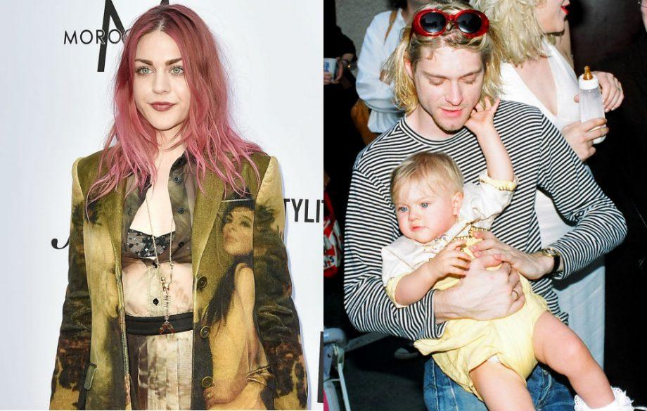 Frances Bean explains why she quotes Kurt Cobain's suicide note   NME