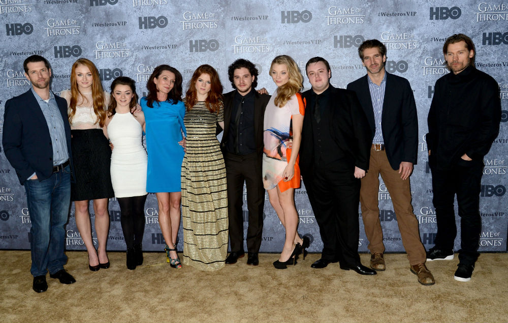 Stars From Game Of Thrones Attend Farewell Party In Belfast Nme