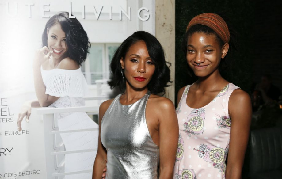 Jada Pinkett Smith And Willow Smith Are Recording A Song