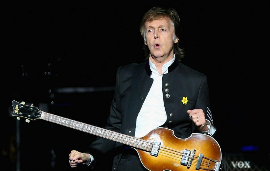 Paul McCartney - Magazine cover