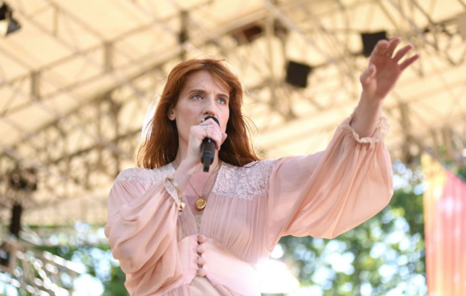Watch Florence + The Machine give a live debut to 'South