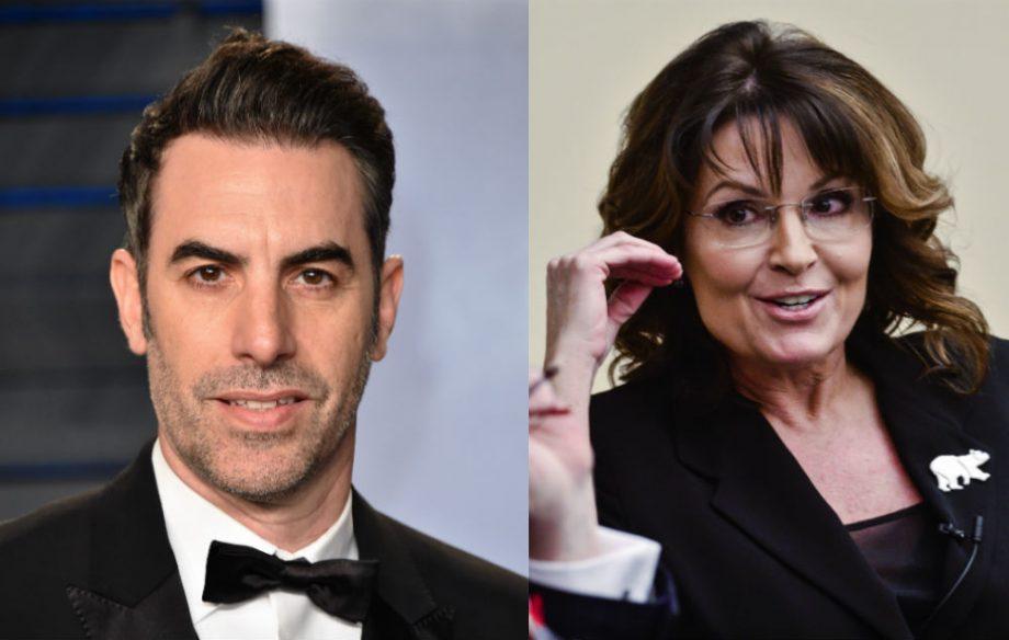 Sacha Baron Cohen Sarah Palin