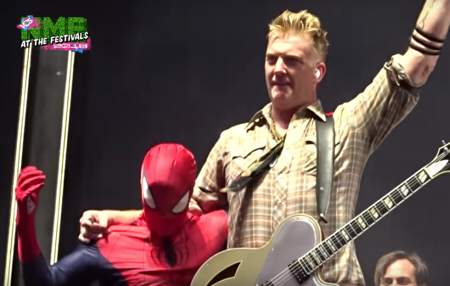 Josh Homme Spiderman