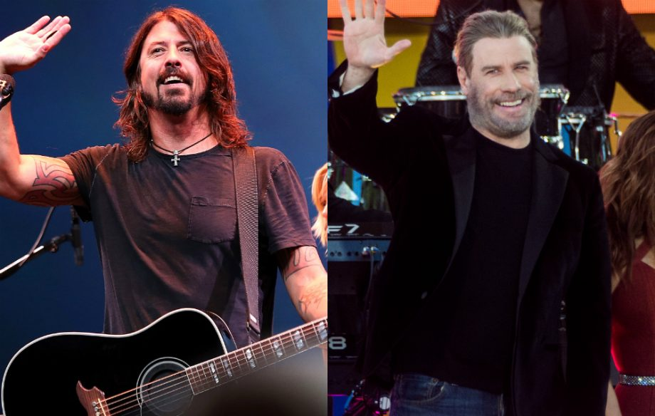 Watch John Travolta return to dance with Foo Fighters and