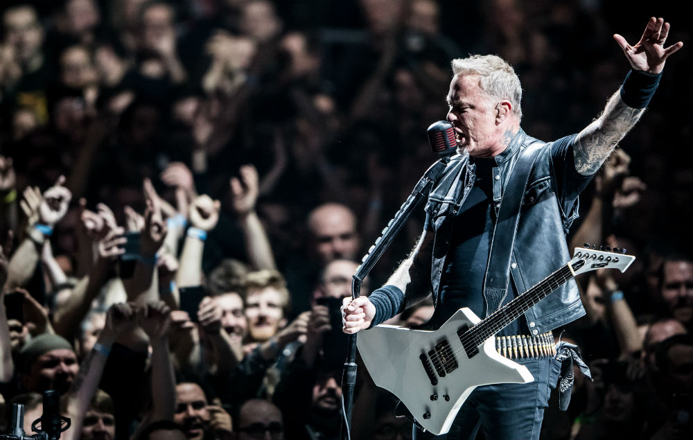 Metallica Shape Live Shows By What Fans Are Listening To