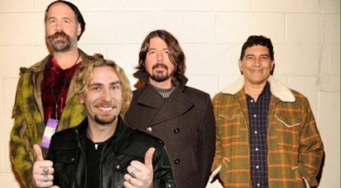 People are campaigning for a Nirvana reunion with Chad Kroeger - NME