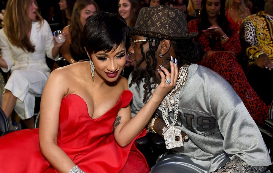 Cardi B Makes First Appearance Since Giving Birth By Pretending To