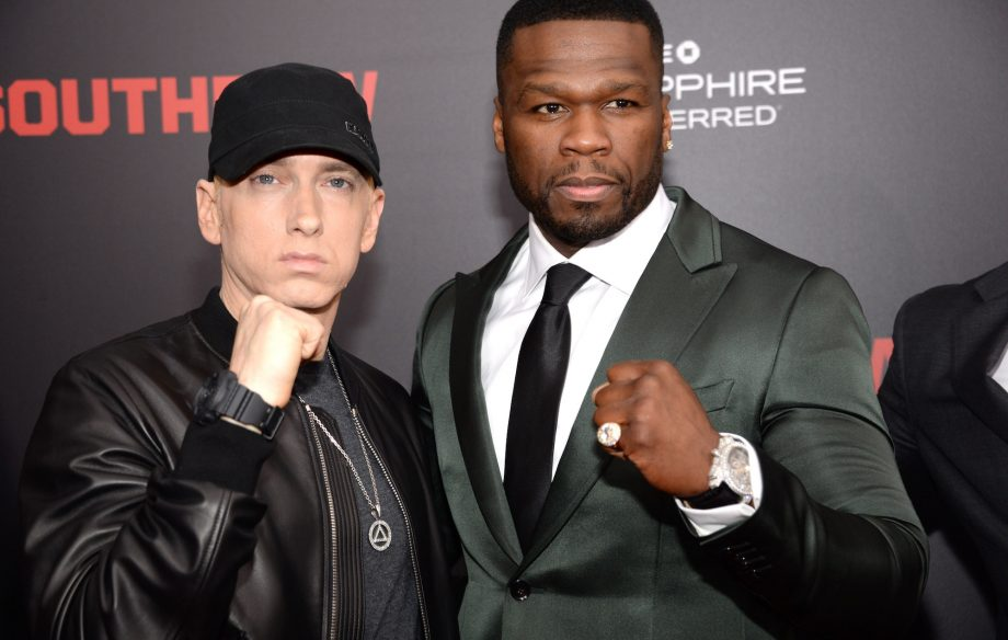 Image result for eminem and 50 cent