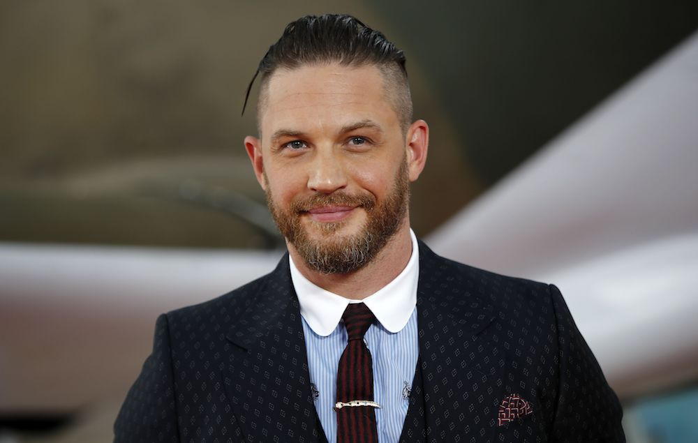 Tom Hardy says he's 'kind of had enough' of acting