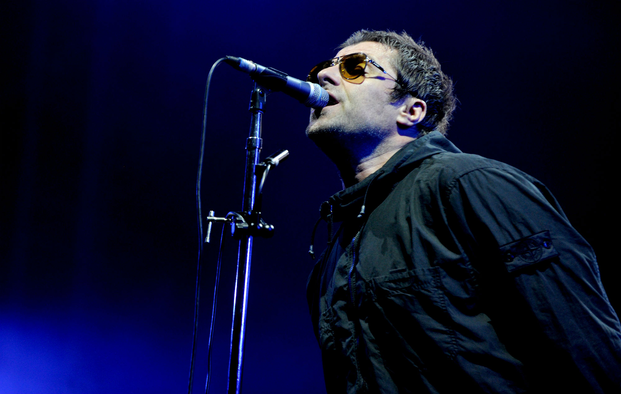 Liam Gallagher Joined On Stage By Richard Ashcroft As The