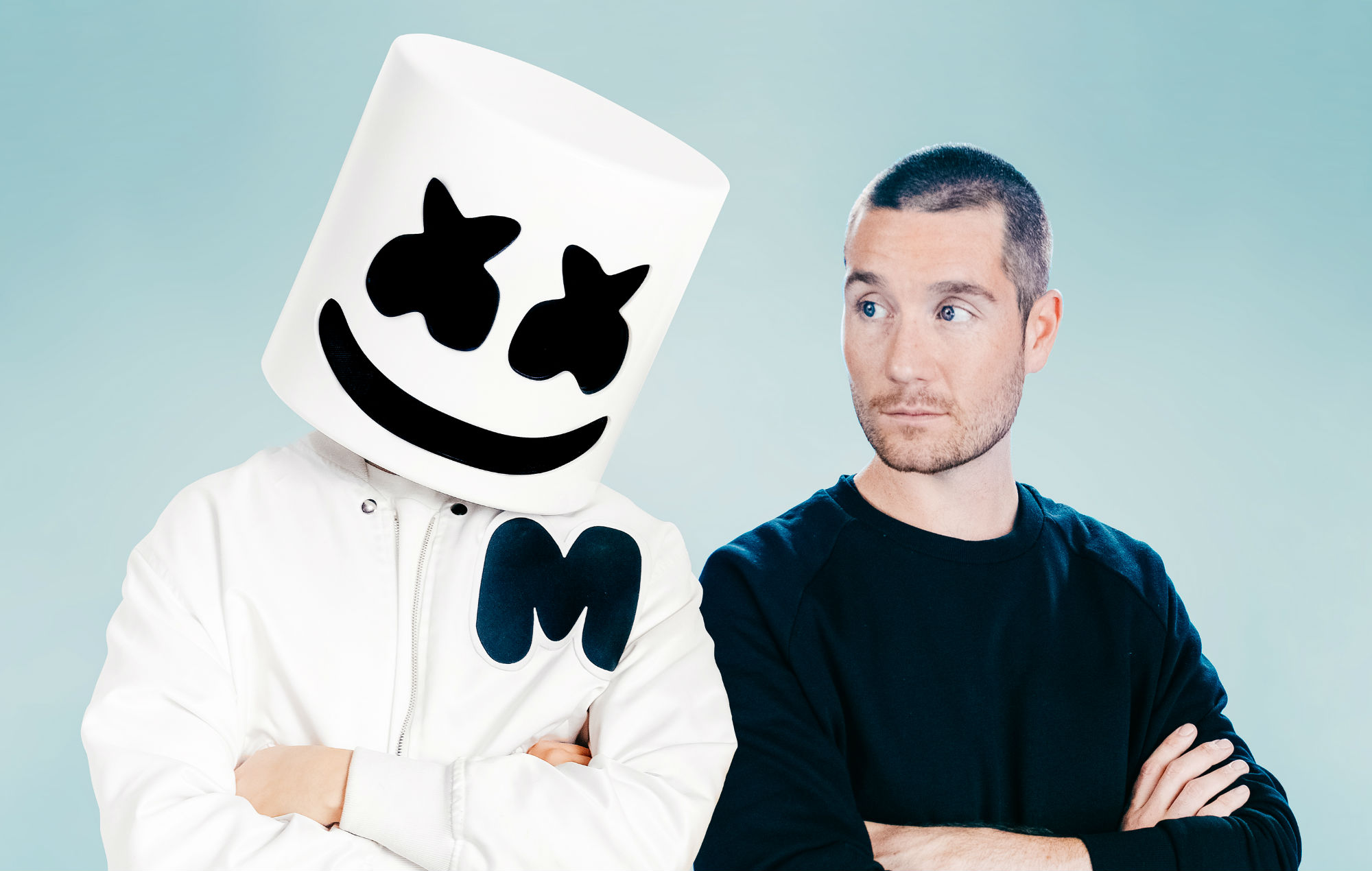 'Euphoria meets melancholy' - Bastille and Marshmello team up for new song 'Happier' - NME