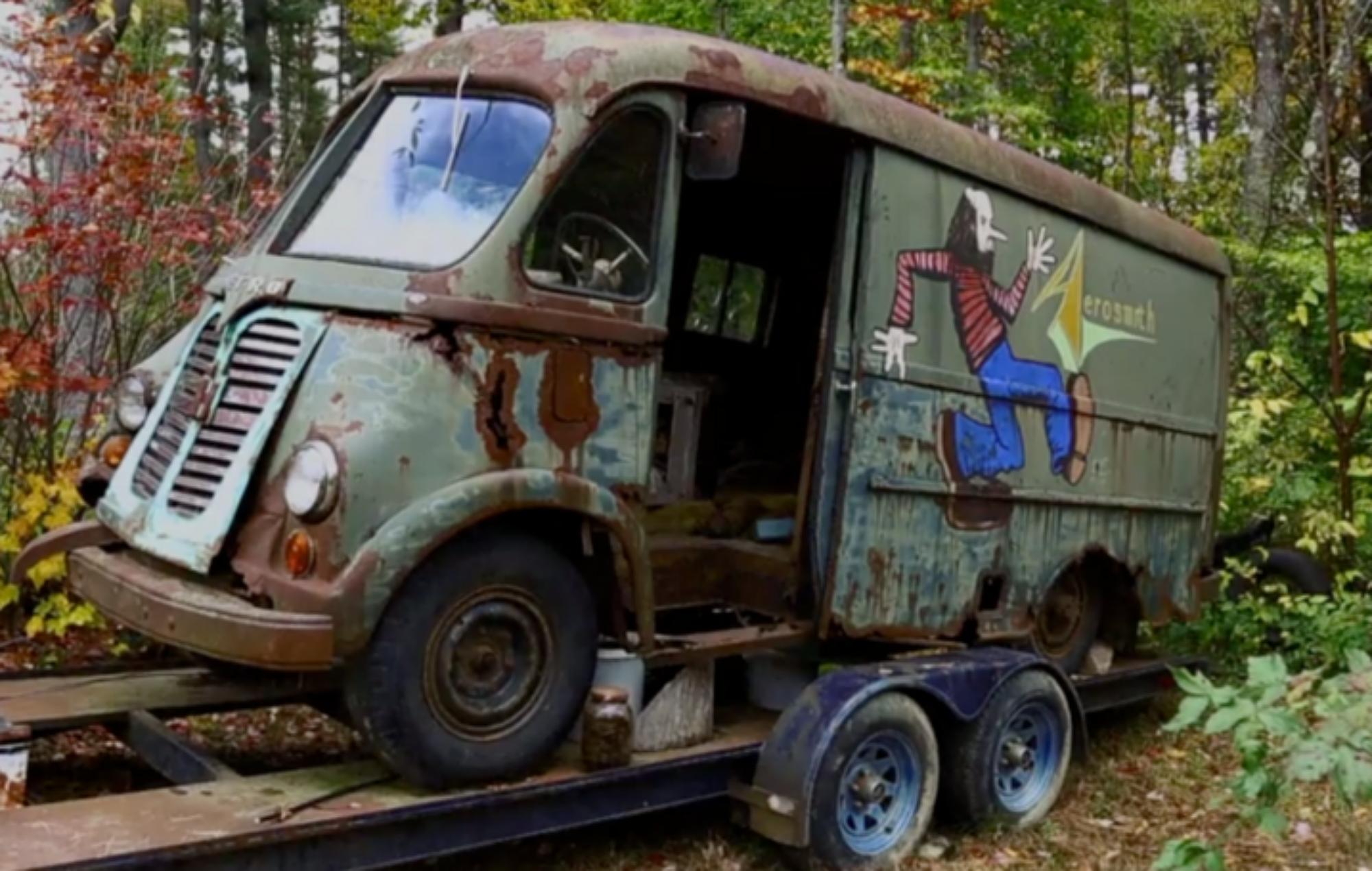 Image result for american pickers aerosmith van