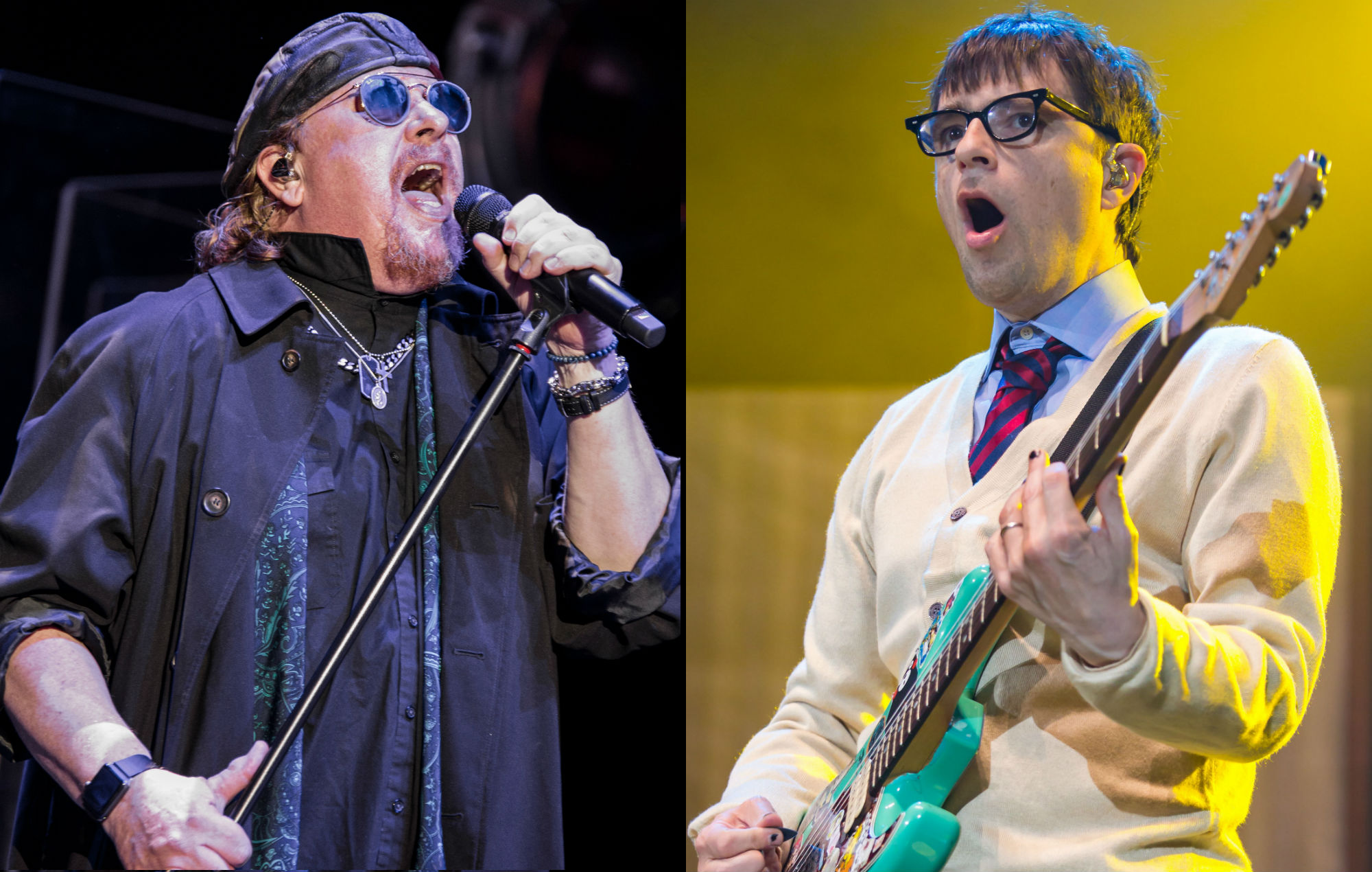 Toto have finally shared a studio version of their cover of Weezer\'s ...