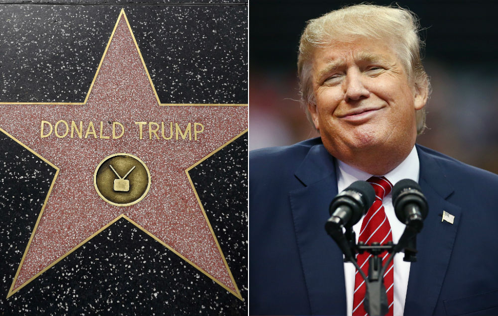 Hollywood votes to remove Donald Trump's Walk of Fame star