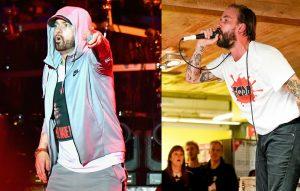 Eminem and IDLES frontman Joe Talbot