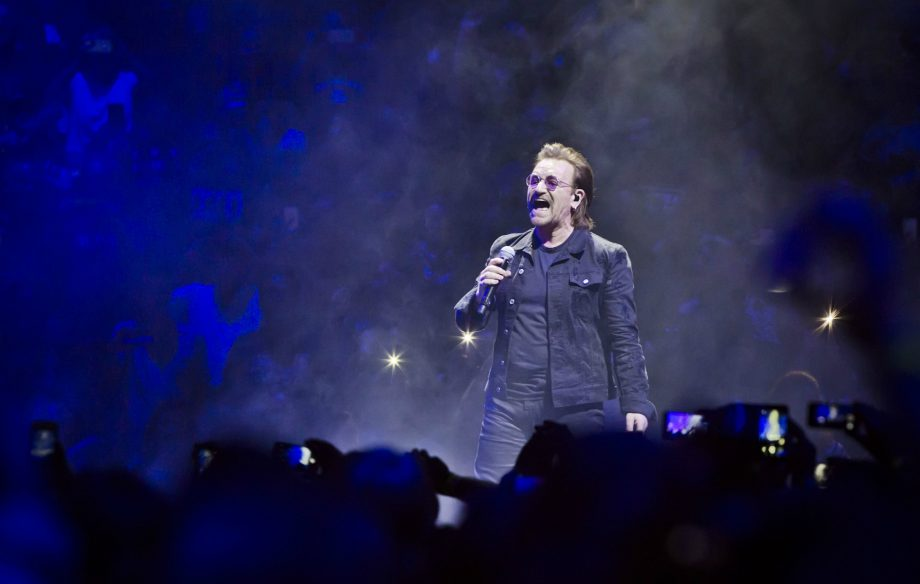 Bono provides positive update after