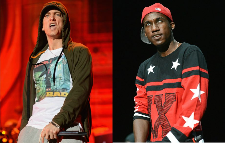 Hopsin can't handle his namecheck on the new Eminem album