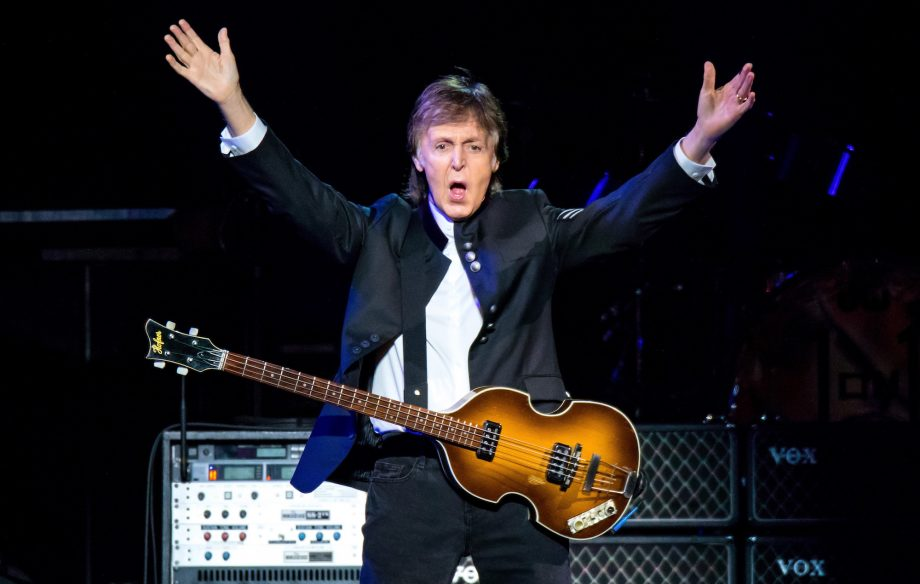 Fuh yeah! Godlike genius Paul McCartney brings fake snow, fireworks and a supersize setlist to emotional homecoming