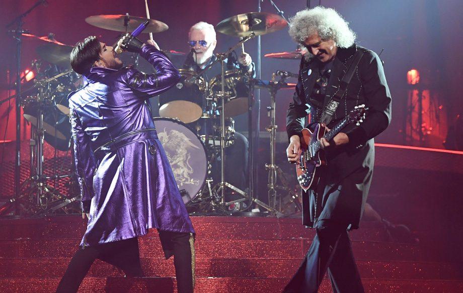 Watch Queen and Adam Lambert cover Elvis Presley at their Las Vegas residency
