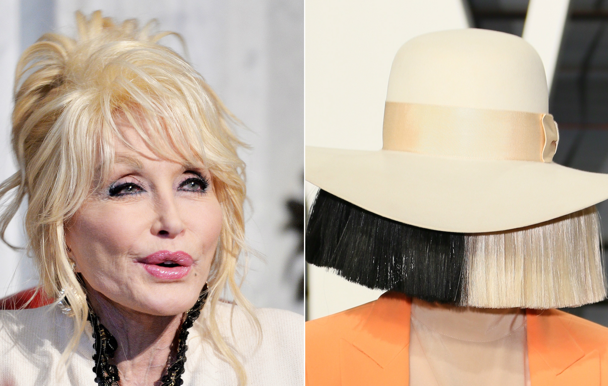 Sia And Dolly Parton Record New Version Of Here I Am For