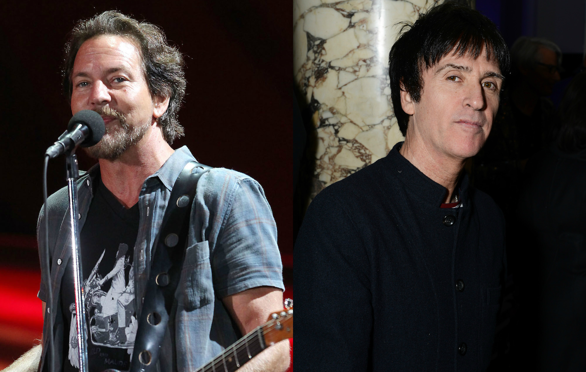 Watch Pearl Jam S Eddie Vedder Cover The Smiths With Johnny Marr