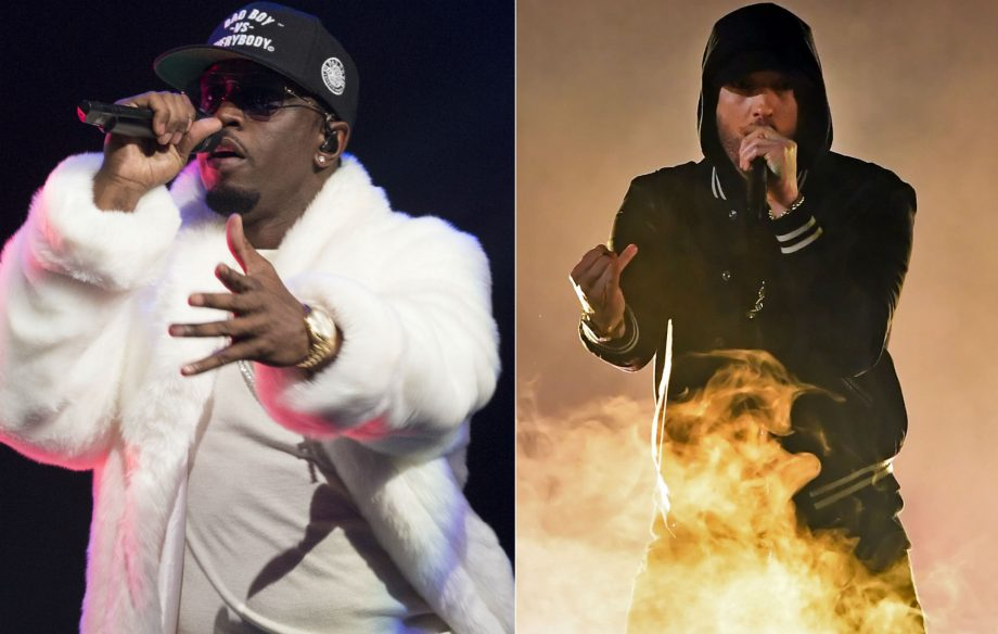 P Diddy responds to Eminem's claim that he killed Tupac