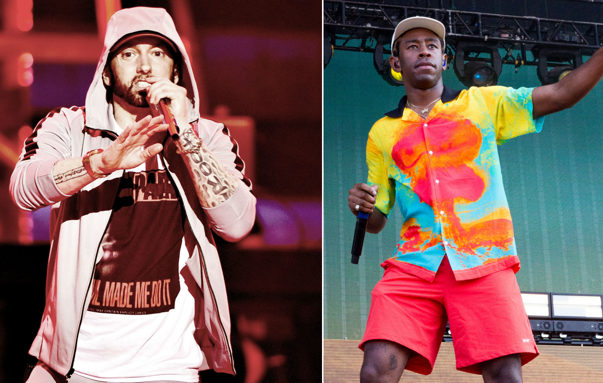 """Tyler, The Creator: Eminem """"picks some of the worst beats ever"""""""