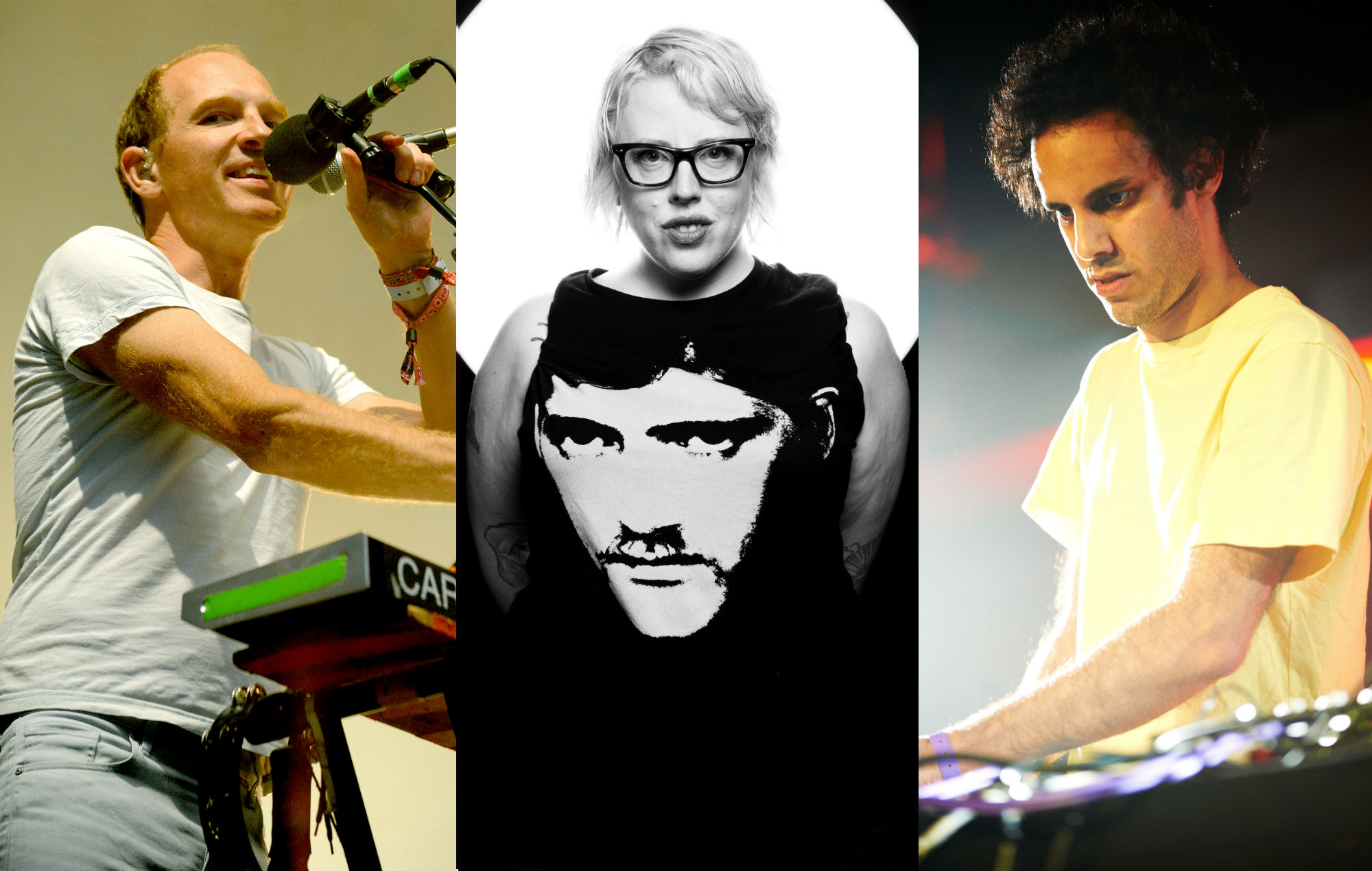 Four Tet, Caribou and The Black Madonna join dozens of DJs