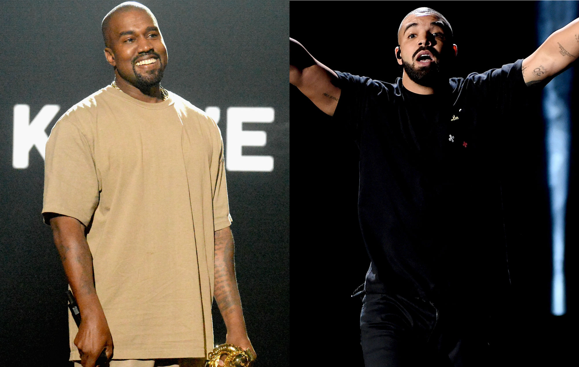 Kanye West Reaches Out To Drake Over Pusha T Feud - Nme-9882
