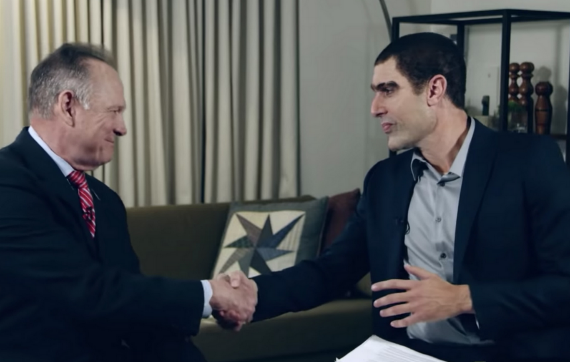 Sacha Baron Cohen Faces 95 Million Lawsuit From Roy Moore
