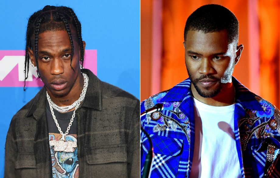5cb3818c58f4 Frank Ocean reportedly takes legal action against Travis Scott over ...