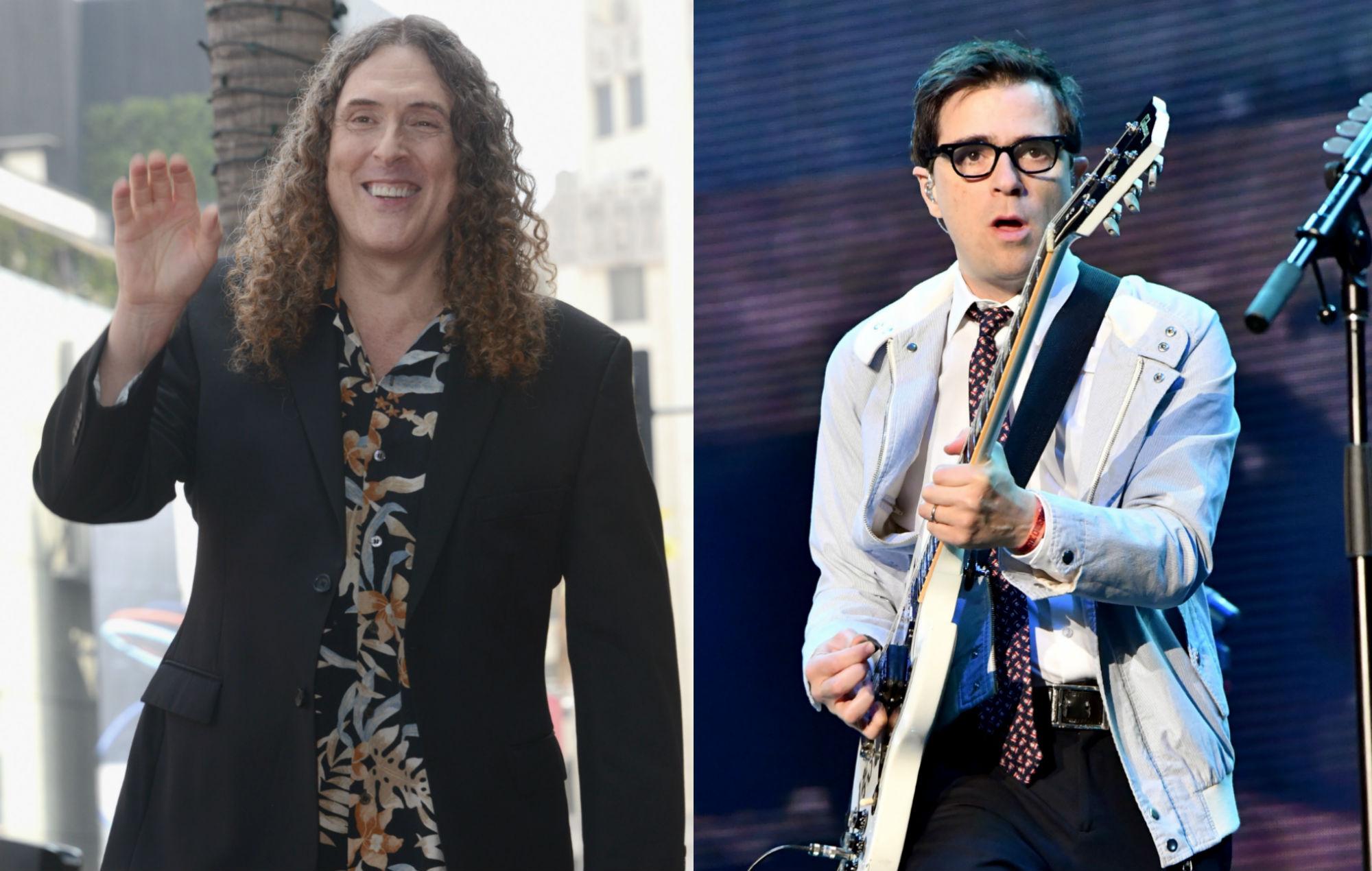 Watch Weird Al Yankovic Fill In For Rivers Cuomo In Weezer