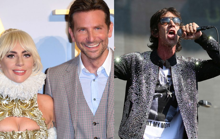 Lady Gaga and Bradley Cooper hold off Richard Ashcroft to score UK