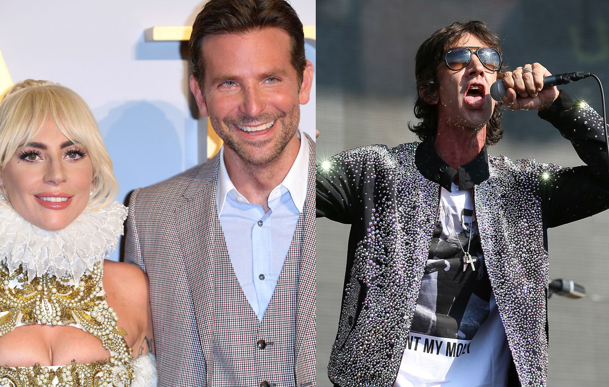 Lady Gaga and Bradley Cooper hold off Richard Ashcroft to ...