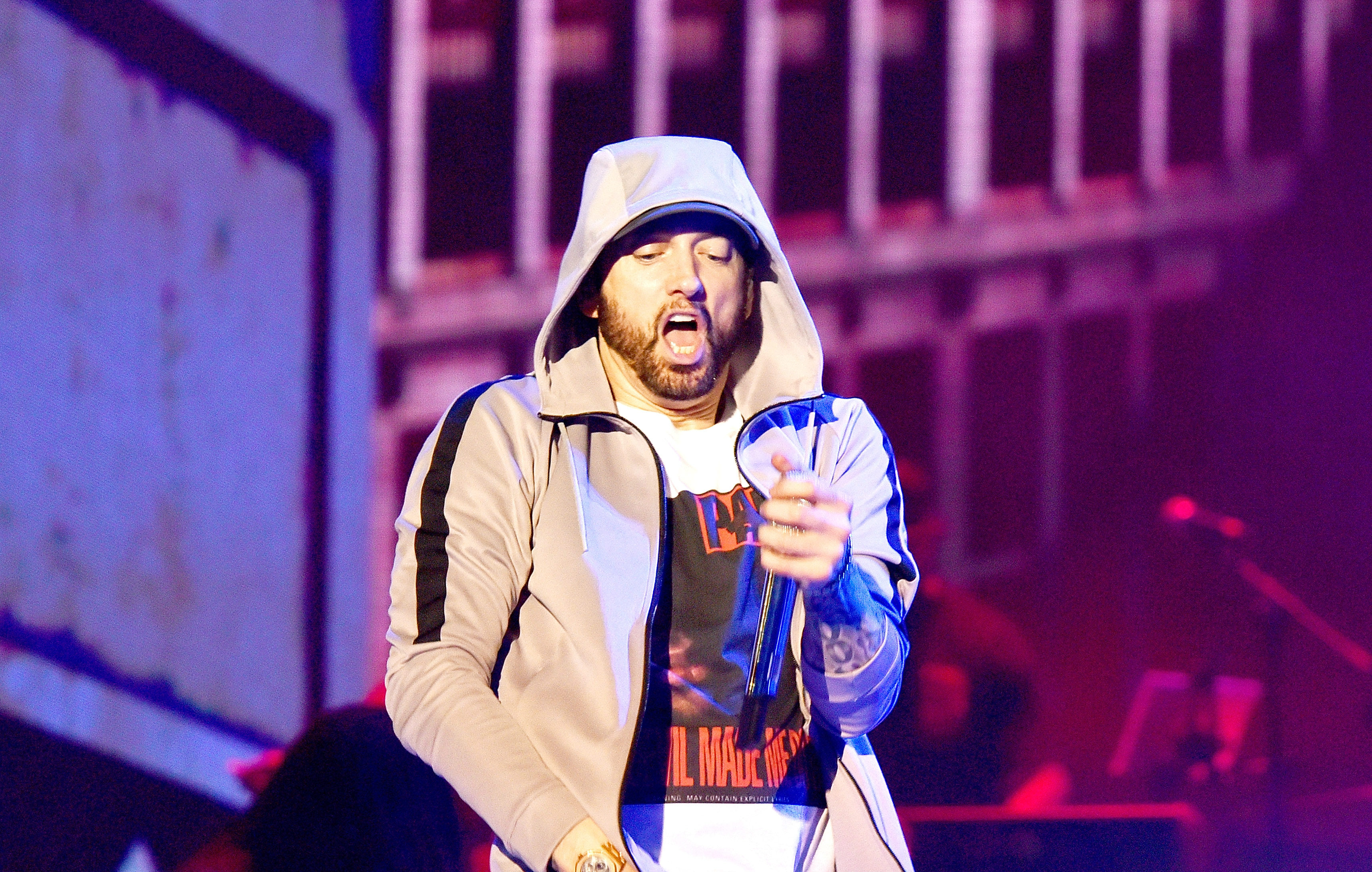 Eminem has announced his first tour dates for 2019