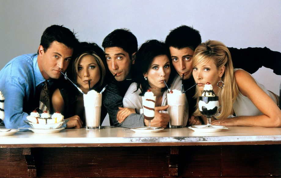 Friends' is officially the most-streamed show in the UK for the