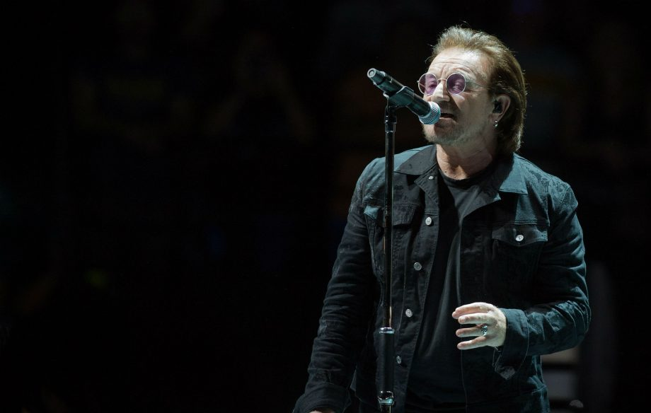 U2's Bono teams up with street artists for new campaign to fight AIDS