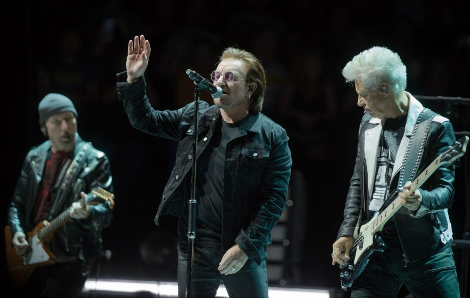 Watch U2 perform 'The Unforgettable Fire' and 'Stay (Faraway, So