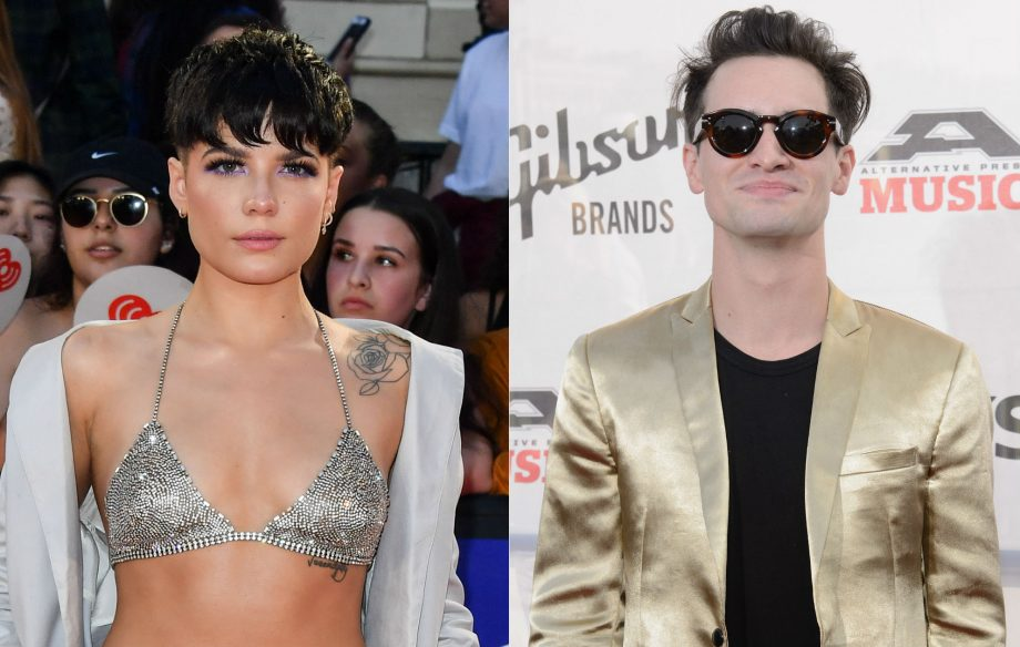 76ffc8d7 Watch Panic! At The Disco duet with Halsey on 'I Write Sins Not ...