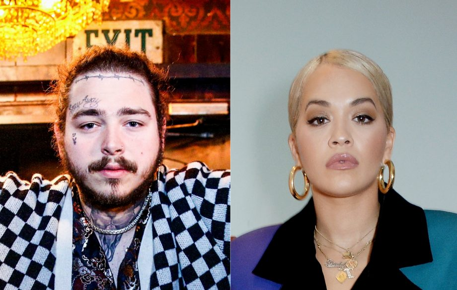 ab35e71c Rita Ora dresses up as Post Malone for Halloween - and she nails it